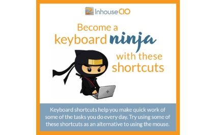 Become a keyboard ninja with these tips