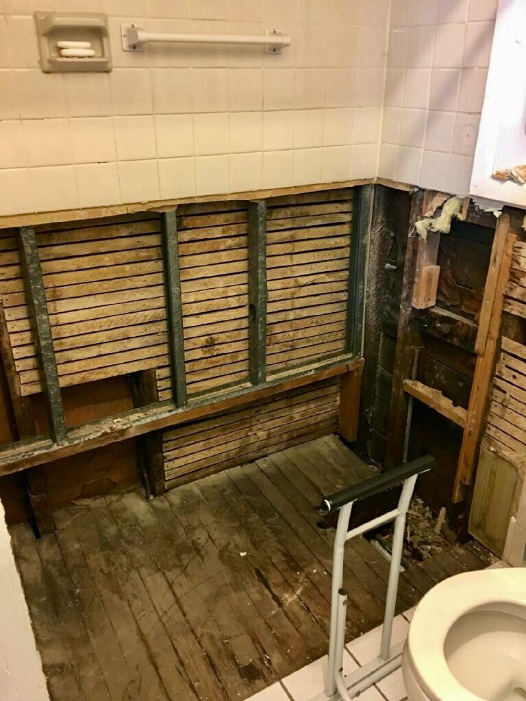 Bathroom During Construction