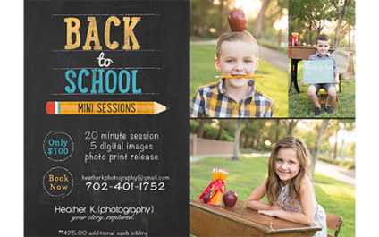 Back-to-School Sessions