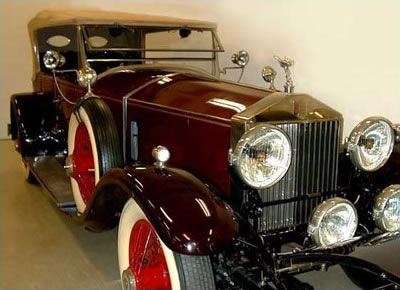 """The Duchess"" a 1928 Rolls-Royce Phantom I Dual Cowl Phaeton – Body by Barker"