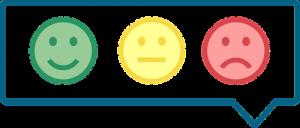 visual feedback representation