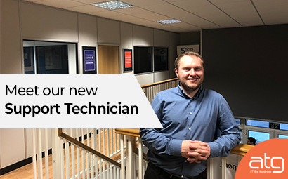 Meet our new 'Support Technician', Adam Williams