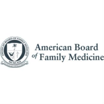 Certified in Family practice by ABFM