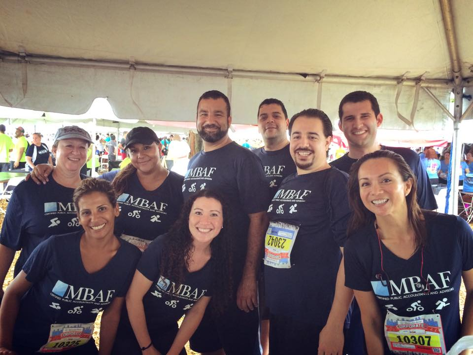 PaperSave folks at Downtown Miami's Corporate Run - go team!