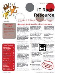Spring 2011 IT Radix Resource Newsletter