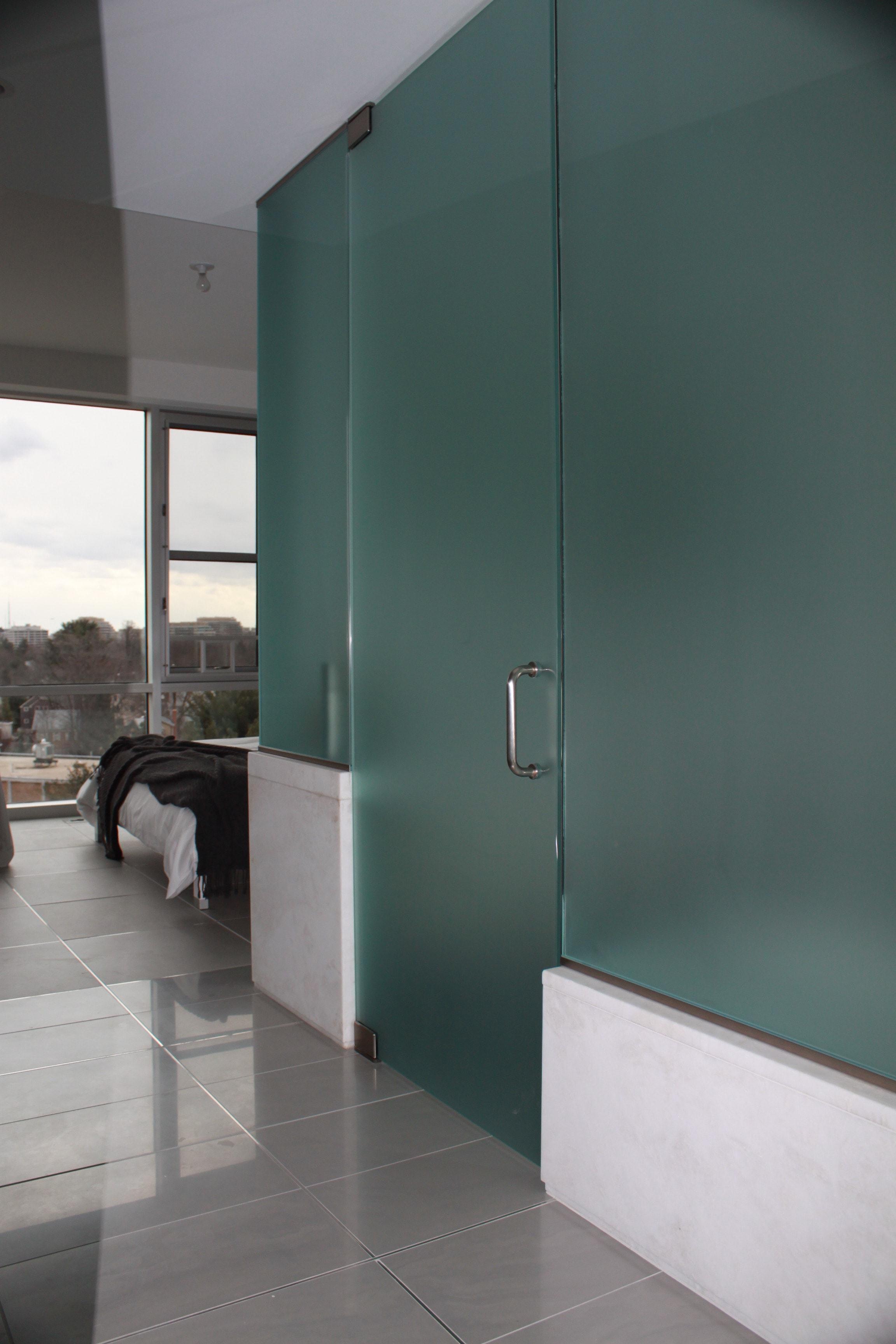 Bathroom Enclosure & Entry Door 2-min