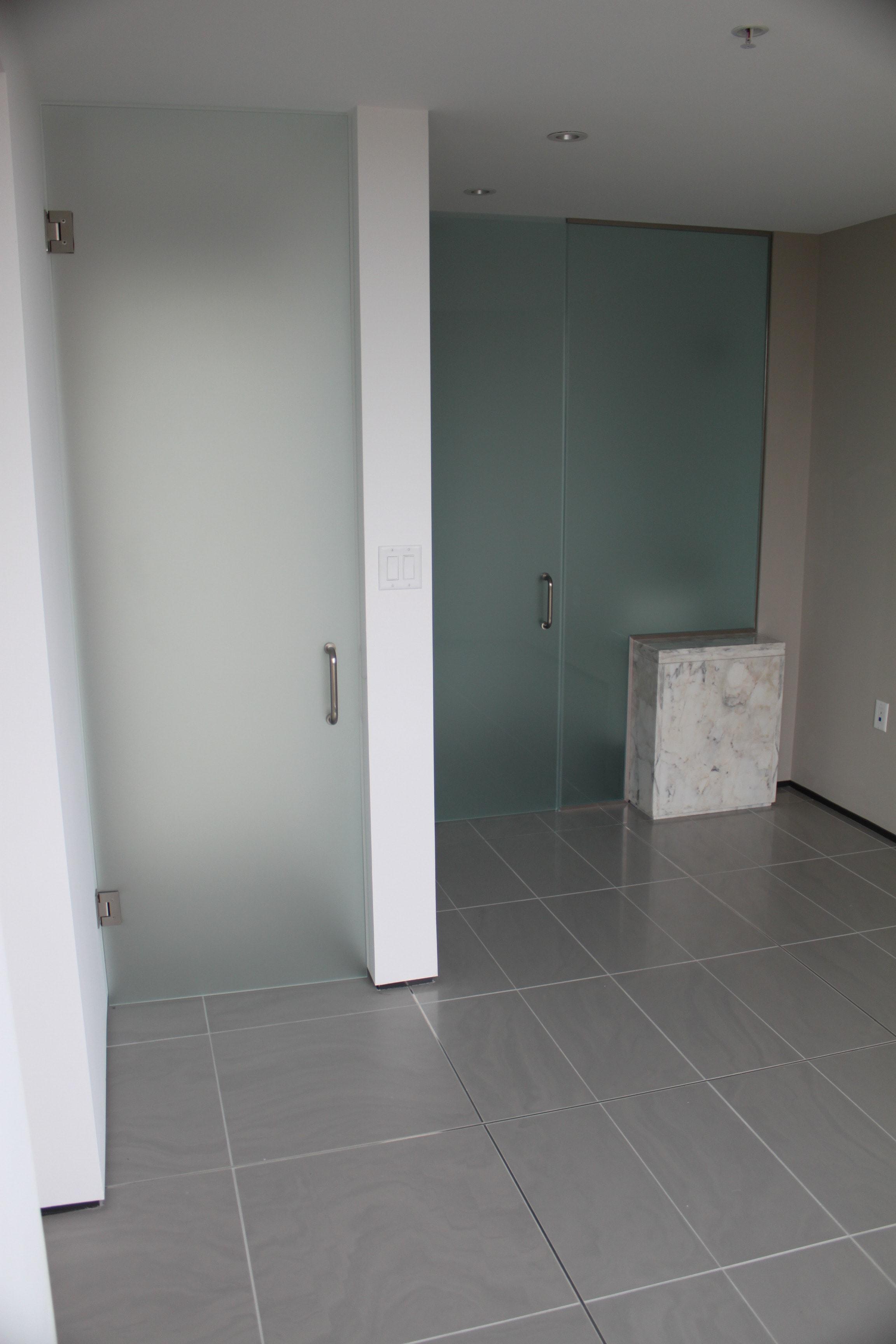 Entry Door & Bathroom Enclosure-min