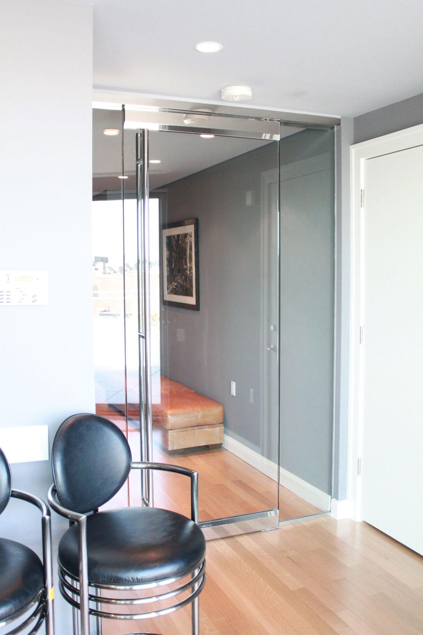Frameless Entry Doors - Site Const 3-min