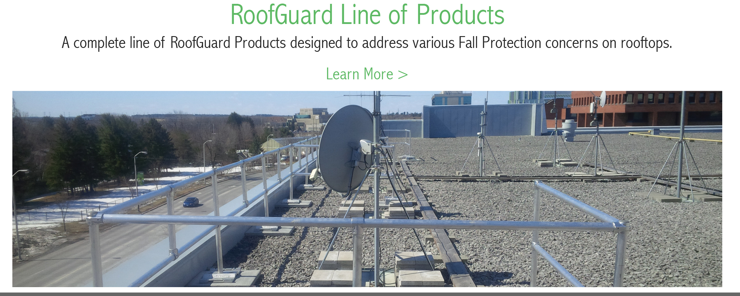 RoofGuard Line of Products