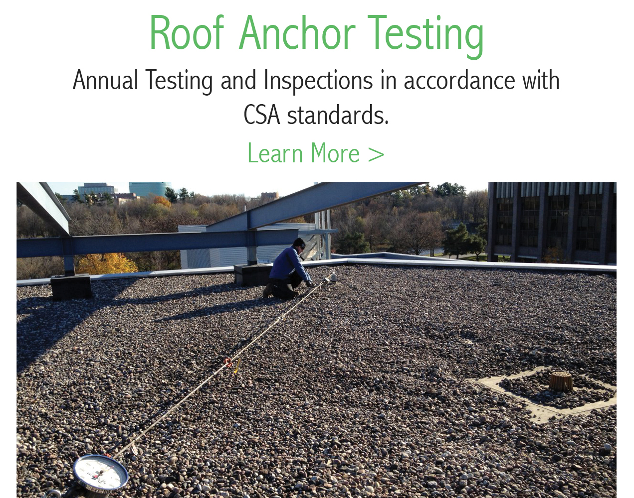 Roof Anchor Testing