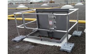 Rooftop Hatch Guardrail