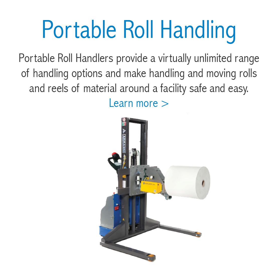 Portable Roll Handling