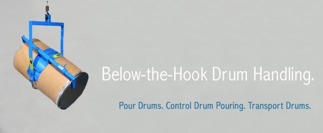 Below-the-Hook Drum Handling