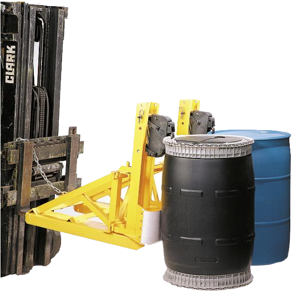 forklift drum handling attachment