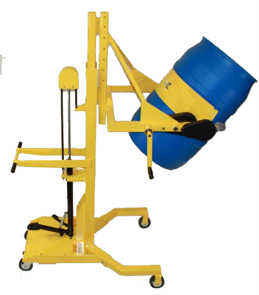 Manual Clamp/Forward Rotation Drum Dumpers