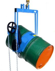 Heavy-Duty Below-the-Hook Barrel Lifter
