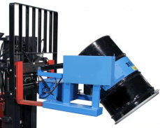 Power Tilt Forklift Drum Handling