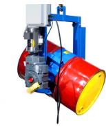 Power Tilt Below-the-Hook Barrel Lifter