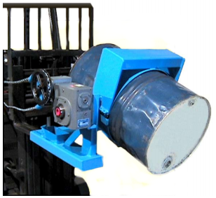 Super Duty Drum Handling Forklift Attachment
