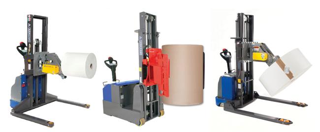 Portable Vacuum Lifting Equipment : Portable roll handling solutions