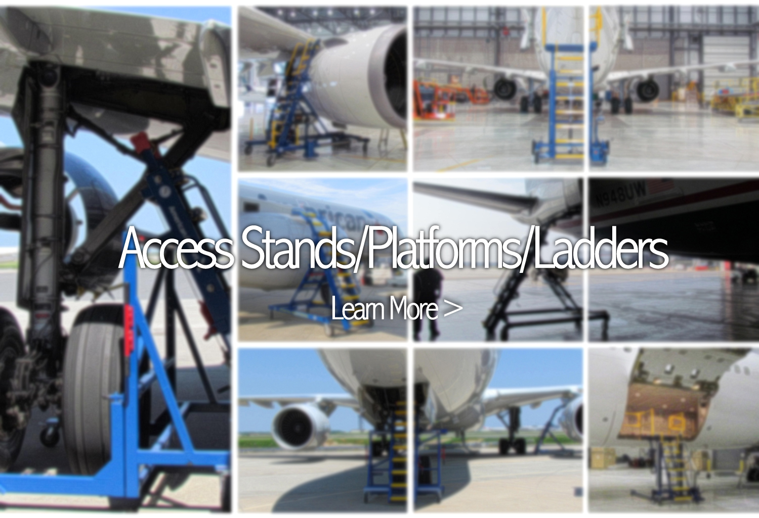 Aviation Access Ladders