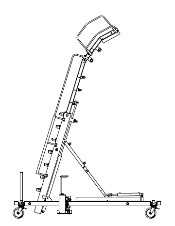 Engine Access Stand