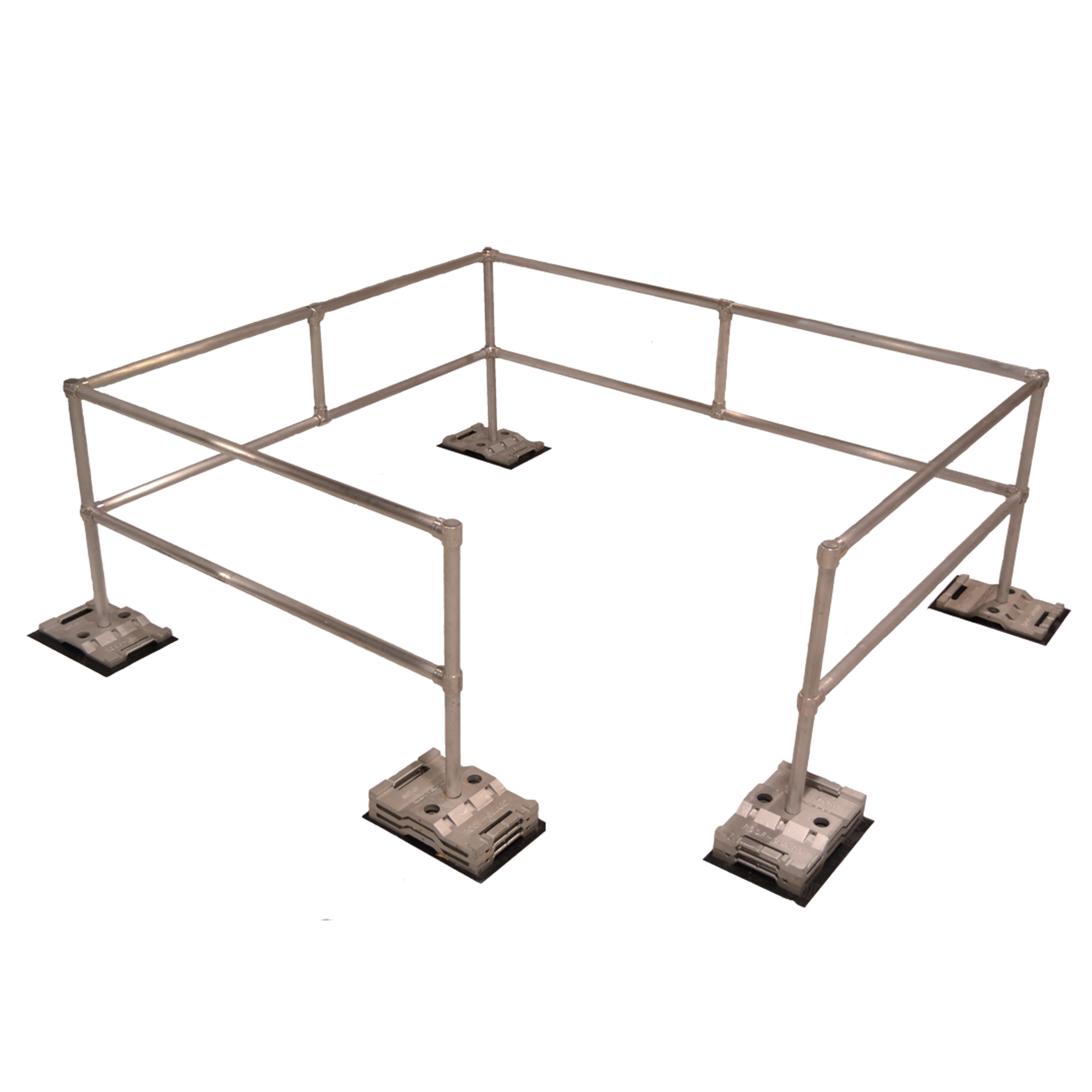 Rooftop Guardrail 18 Foot Kit