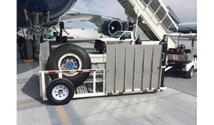 Aviation Tire Trailer