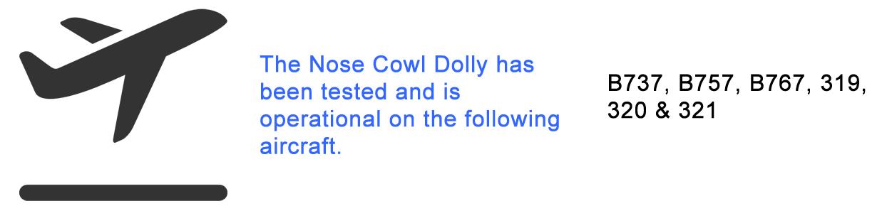 Nose Cowl Dolly Aircraft