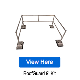 RoofGuard Fall Protection Guardrail