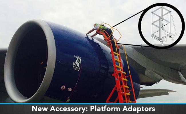 Platform Adaptors for Engine Access Stands