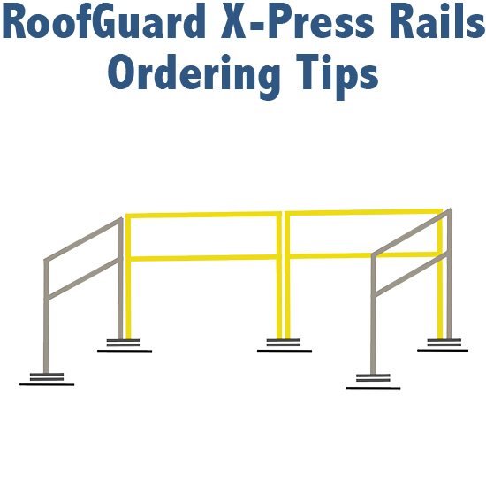 RoofGuard X-Press Rails Ordering Tips