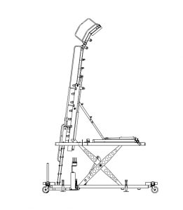 Aircraft Maintenance and Engine Access Stand 06