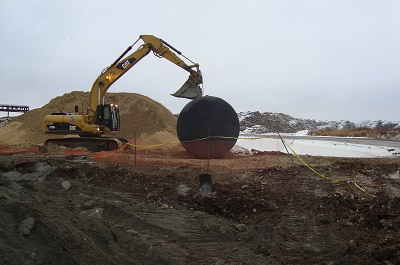 AEL staff complete a winter remediation