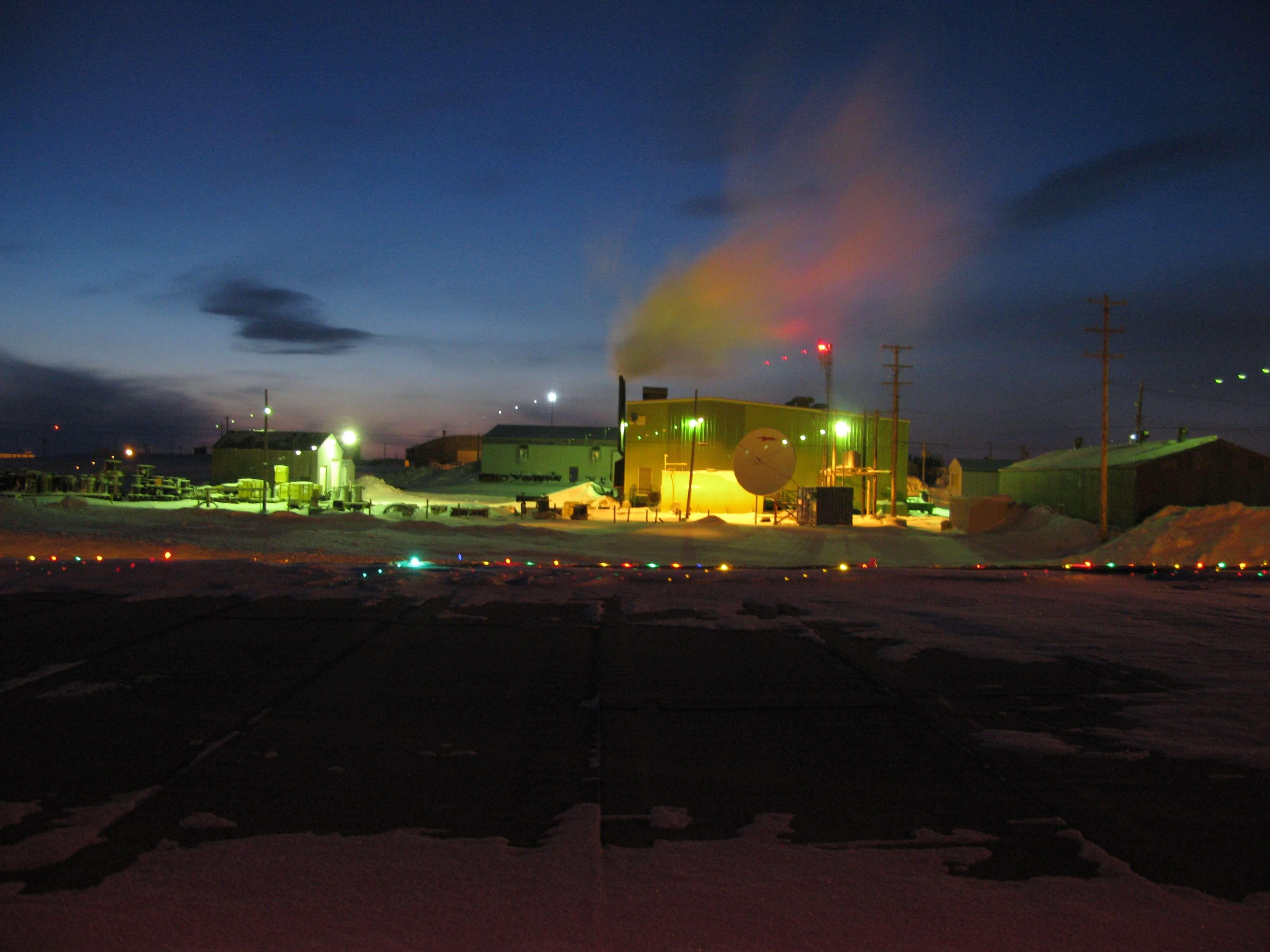 Client's site in Resolute Bay, Nunavut.