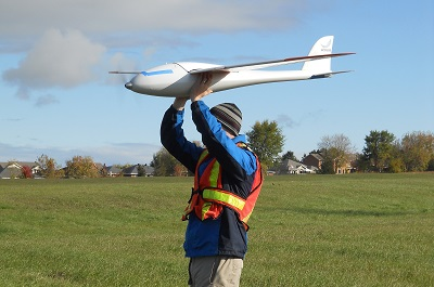 Launching a UAV Drone