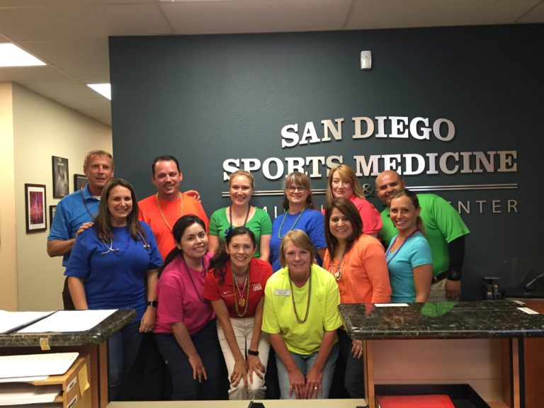 San Diego Doctors For Team Usa San Diego Sports Medicine Family