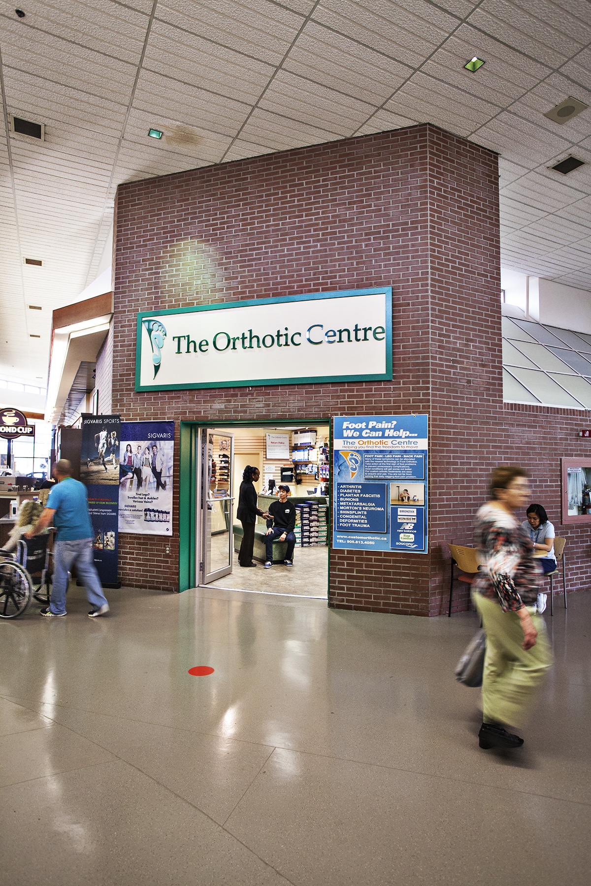 The Orthotic Centre at The Credit Valley Hospital