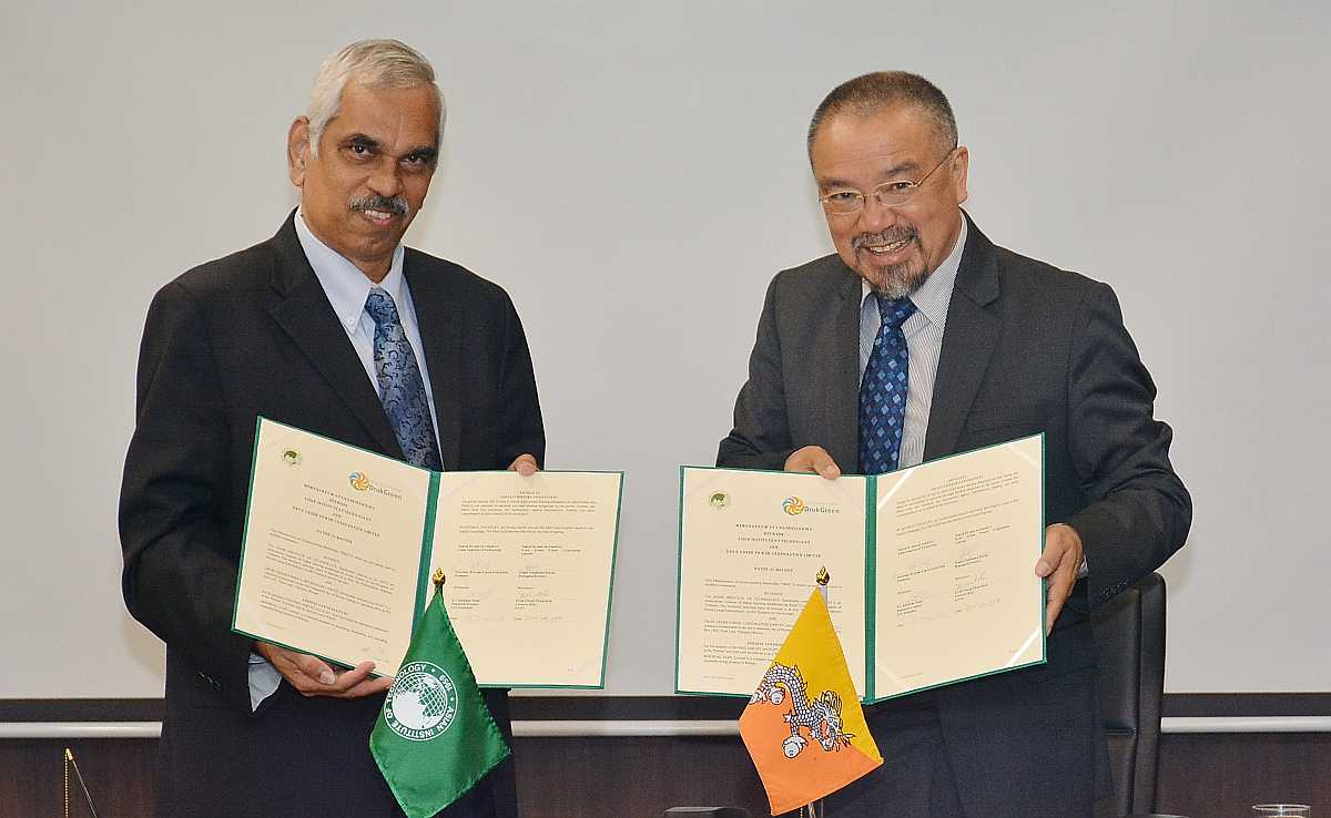 Partnership With Druk Green Power Corporation Asian Institute Of