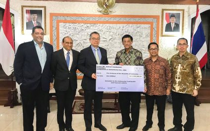 CSI Donates Two Million Baht toward Disaster Relief
