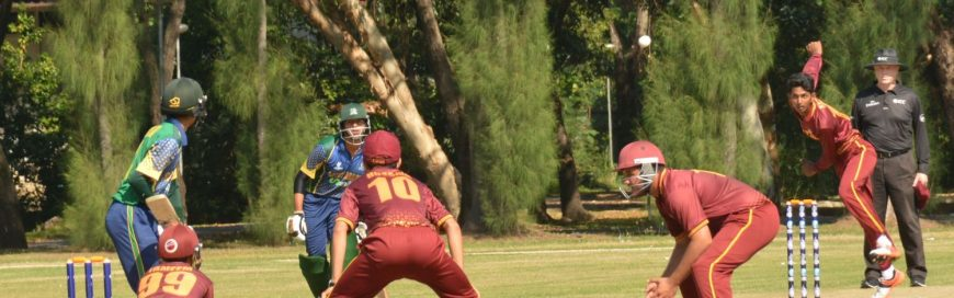 AIT Hosts International Cricket Matches for ICC