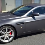car wraps, vehicle wraps, color change wrap, custom wraps, matte gray, aston martin