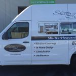 partial wrap, vehicle decals, fleet graphics