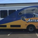 van wrap, car wraps, vehicle graphics, fleet graphics, bus wrap
