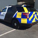 car wrap, vehicle graphics, vehicle wraps, security vehicle graphics