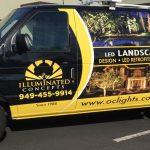van wrap, car wraps, vehicle graphics, landscape van wraps