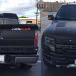truck wrap, car wrap, vehicle wrap, color change, matte black wrap