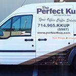 partial wrap, van wrap, vehicle graphics, Ford Transit Wrap