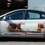 partial wrap, car wrap, vehicle graphics