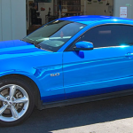 car wraps, vehicle wraps, color change wrap, custom wraps, blue chrome